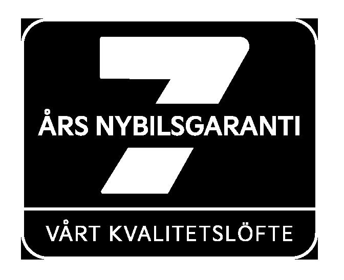 Logo 7 års nybilsgaranti